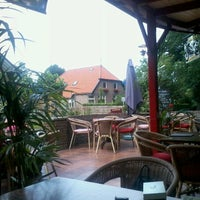 Photo taken at Hotel Restaurant Café Steakhouse Boschzicht by Allert K. on 8/15/2012