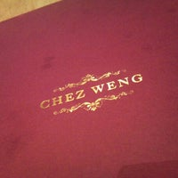 Photo taken at Chez Weng Modern Grill Restaurant by Rachel O. on 6/16/2012