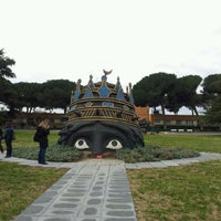 Photo taken at Cinecittà Studios by Stefania T. on 2/19/2012