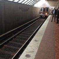 Photo taken at West Falls Church-VT/UVA Metro Station by Daniel K. on 3/5/2012