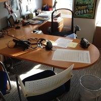 Photo taken at Sean Parker's Office by Alex B. on 2/15/2012