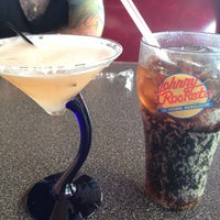 Photo taken at Johnny Rockets by Leah K. on 4/9/2012