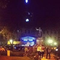 Снимок сделан в Plaza Mayor пользователем Kriziaoumo O. 8/28/2012