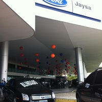 Photo taken at Jaysa Concessionária Ford by Acrisio F. on 4/25/2012