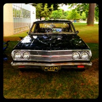 Photo taken at Sloan Museum Auto Fair by Amber M. on 6/23/2012