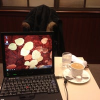 Photo taken at Cafeルノアール ヨドバシAkiba横店 by Yasutaka M. on 3/18/2012