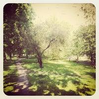 Photo taken at Сквер У Библиотеки 59 by Mariam N. on 5/15/2012