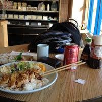 Photo taken at Gombei Bento by Aaron E. on 4/5/2012