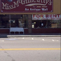 Photo taken at Miss McGillicutty's Antiques by Don H. on 4/21/2012