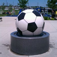 Photo taken at Overland Park Soccer Complex by Seymour on 5/27/2012