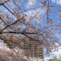 Photo taken at 市岡元町公園 by Yum .. on 4/14/2012