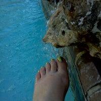 Photo taken at Toes N Pool by Karen S. on 4/8/2012