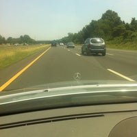 Photo taken at I-287 by Cristina C. on 6/10/2012