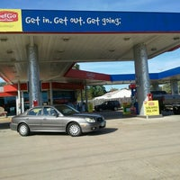 Photo taken at GetGo Gas Station by Nicole M. on 9/12/2012