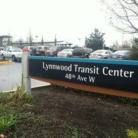 Photo taken at Lynnwood Transit Center by Jenn H. on 3/5/2012