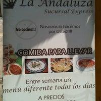 Photo taken at La Andaluza by Daniel on 7/31/2012