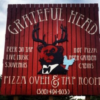 Photo taken at Greatful Head Pizza Oven And Tap Room by Matthew S. on 4/14/2012