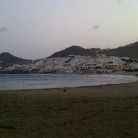 Photo taken at Playa de San José by Mayte O. on 8/7/2012