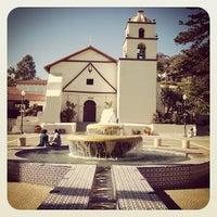 Photo taken at Mission San Buenaventura by Benjamin N. on 7/27/2012