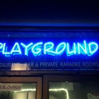 Photo taken at Playground by Simon F. on 2/16/2012