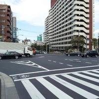 Photo taken at 日曹橋交差点 by yasuzoh on 3/25/2012