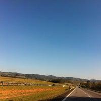 Photo taken at Rodovia Governador Carvalho Pinto by Carolina L. on 8/10/2012