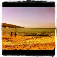 Photo taken at Porto Koundouros Beach by Giannis 😎 L. on 7/12/2012