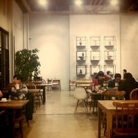 Photo taken at Factory670 / Hankook Coffee by Kyung hee Y. on 4/8/2012
