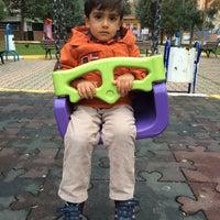 Photo taken at Şehit Fethi Parkı by Mücahit T. on 11/24/2014
