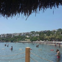 Photo taken at Meteor Beach Snack Bar by Levent E. on 7/17/2015