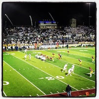 Photo taken at Memorial Stadium by Lewis C. on 11/9/2013