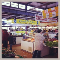Photo taken at Marché Couvert by Sylvain B. on 5/1/2013