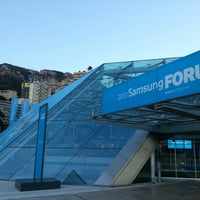 รูปภาพถ่ายที่ Grimaldi Forum โดย Soomin K. เมื่อ 2/3/2013