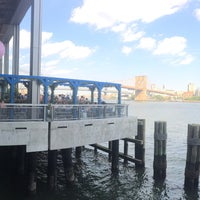 Photo taken at The Heineken River Lounge at Pier 17 by Peter S. on 7/14/2018