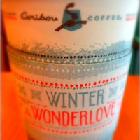 Photo taken at Caribou Coffee by Sung on 12/29/2013