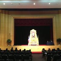 Photo taken at Bangkok University by Rachi I. on 12/4/2012