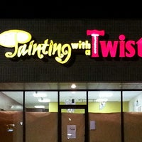 Photo taken at Painting with a Twist by Casey W. on 3/24/2013