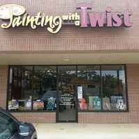 Photo taken at Painting with a Twist by Casey W. on 4/11/2013
