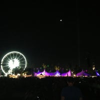 Photo taken at Coachella Main Stage VIP by David K. on 4/14/2013