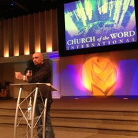 Photo taken at Church of the Word International by Dale A. on 4/28/2013