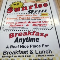 Photo taken at Sunrise Grill by Shelby S. on 4/12/2013