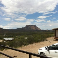 Photo taken at Terlingua Ranch Lodge by Marie-Joëlle B. on 8/7/2013