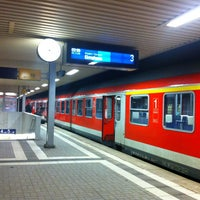Photo taken at Bahnhof Pinneberg by Ben on 1/12/2013
