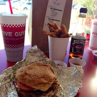 Photo taken at Five Guys by C B. on 4/6/2013