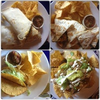 Photo taken at Blue Agave Mexican Bar by Gabriela B. on 3/12/2013