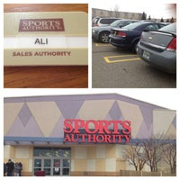 Photo taken at Sports Authority by Ali B. on 4/13/2013