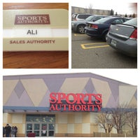 Photo taken at Sports Authority by Ali B. on 5/23/2013