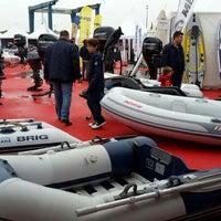 Photo taken at Ev're Boat Show Standı by Efe O. on 10/11/2015