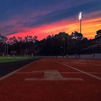 Photo taken at Foothill College Football Field by Ali S. on 12/17/2013