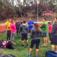 Photo taken at Foothill College Football Field by Ali S. on 1/28/2014
